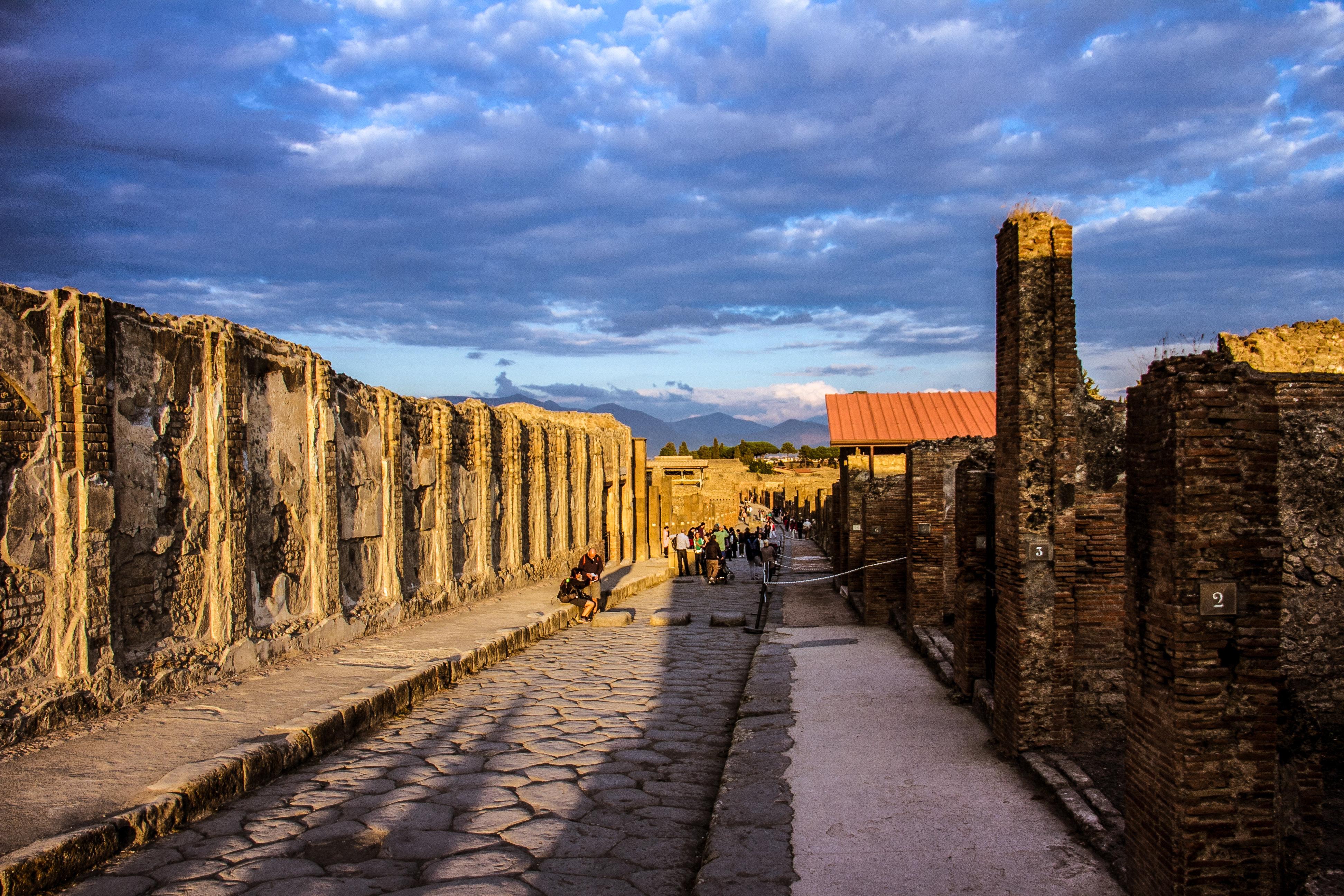 庞贝古城旅游景点图片