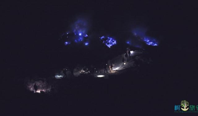 """【印尼】伊真火山,带你去看自然奇迹""""蓝色火焰"""""""
