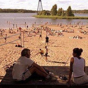 Hietaniemi 海滩旅游景点攻略图