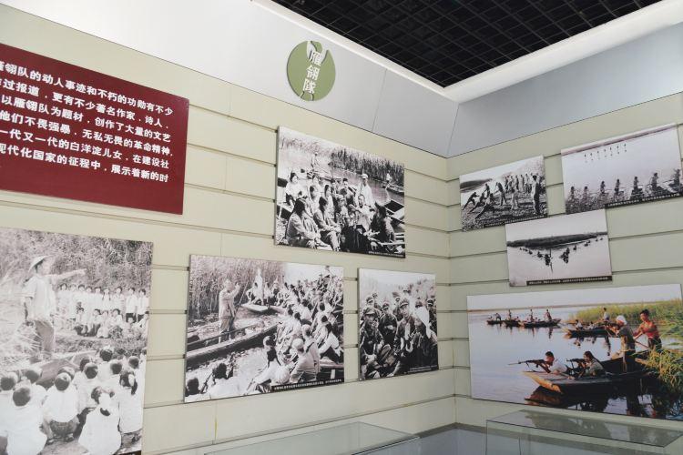 Baiyangdian Yanlingdui Memorial Hall3