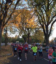 [波特兰游记图片] 在秋天的波特兰跑一场北美最美马拉松