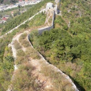 白羊峪长城旅游区旅游景点攻略图