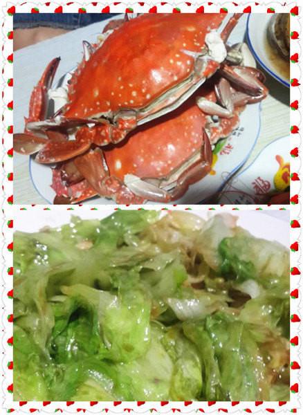 吃着海鲜,一场梦似花开