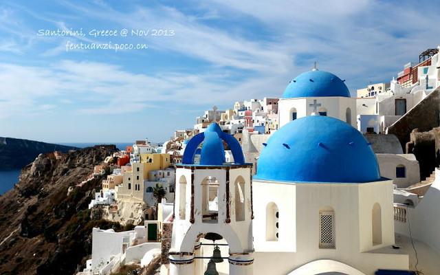 欧洲四国漫游记之希腊爱琴海