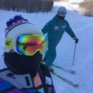 卧佛山滑雪场旅游景点攻略图