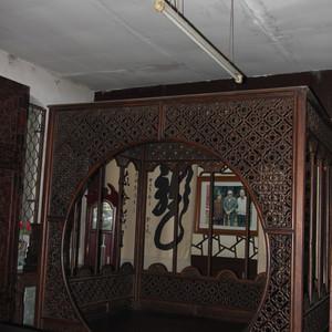 太谷游记图文-山西太谷孔祥熙故居的家具--精致,美轮美奂