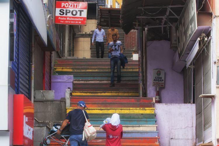 Rainbow Stairs1