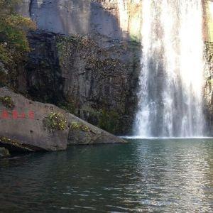 飞瀑涧旅游景点攻略图