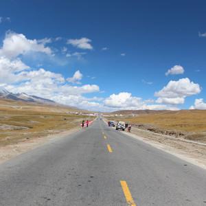 玉树游记图文-青藏线上的云和月(西藏行之三)
