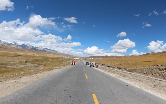 青藏线上的云和月(西藏行之三)