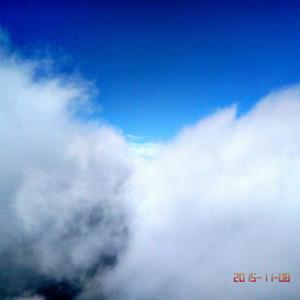 栾川游记图文-老君山极顶露宿,云海,佛光,日出,晚霞,雾凇,一个不少