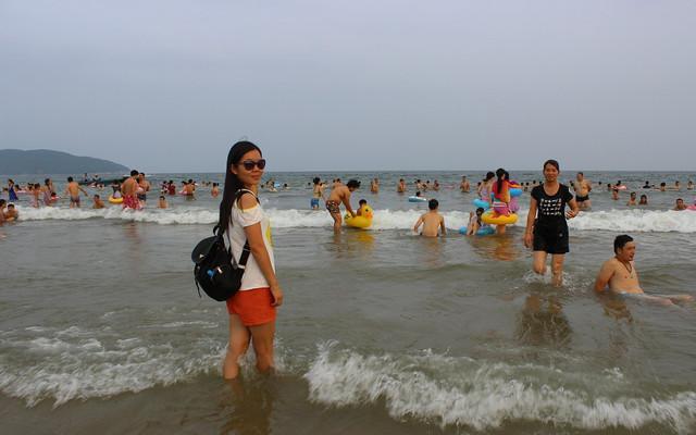 沙扒湾  释放夏日心去处