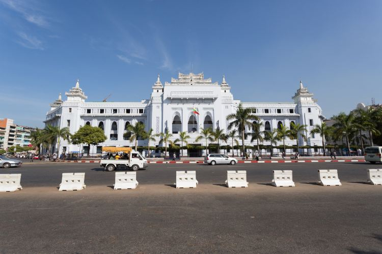 Yangon City Hall1
