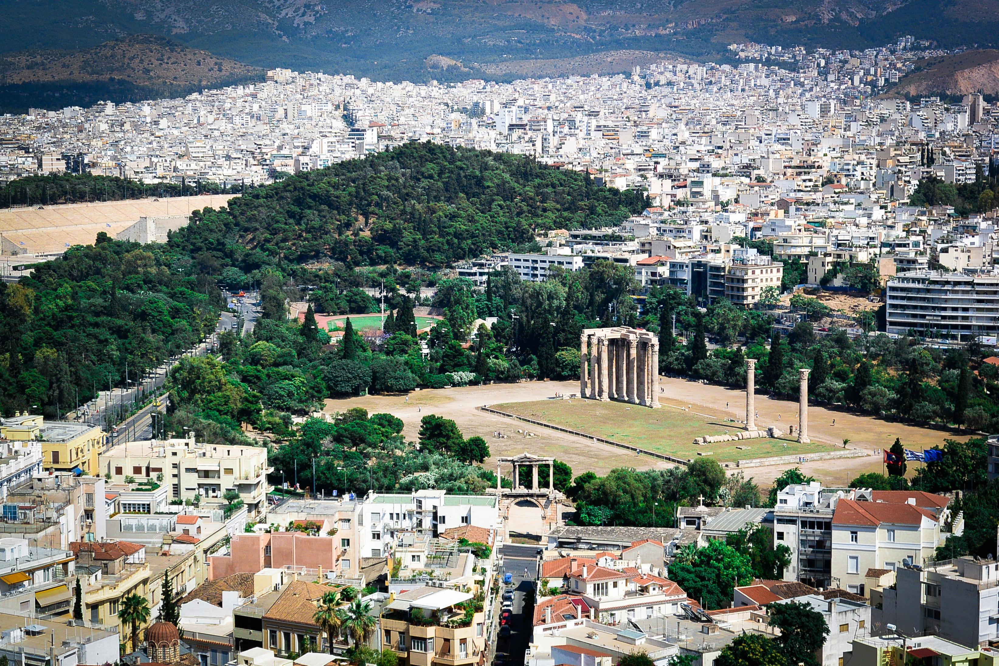 奥林匹亚宙斯神殿旅游景点图片