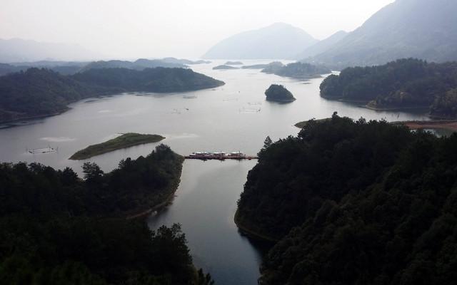 #我的2015#【20150927】黄石仙岛湖,相逢山水间