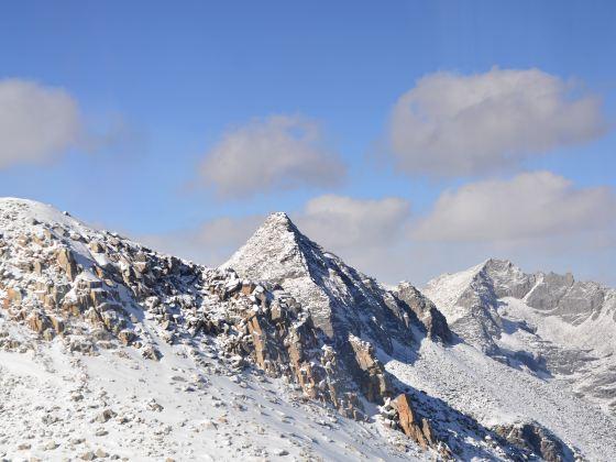 達古冰川風景區