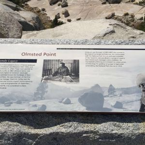 Olmsted Point 观景点旅游景点攻略图