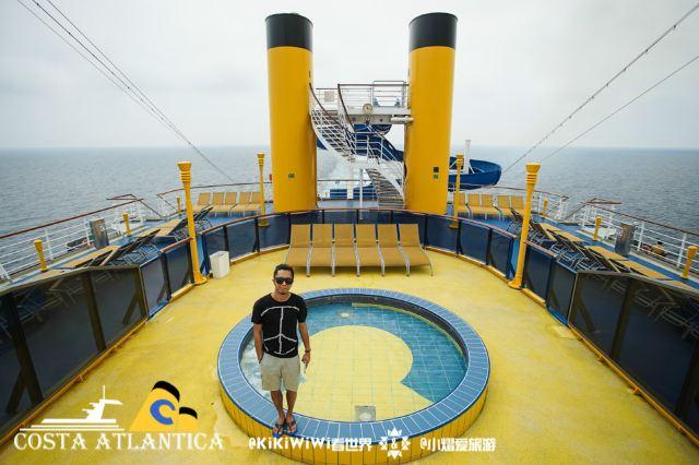 【歌詩達大西洋號】海上移動的藝術皇宮