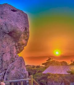 [五莲游记图片] 日出东方有个九仙山 九仙山的石头会说话