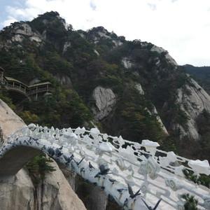 大别山景区游记图文-误打误撞的天堂寨和不期而遇的徐凤冲村红叶