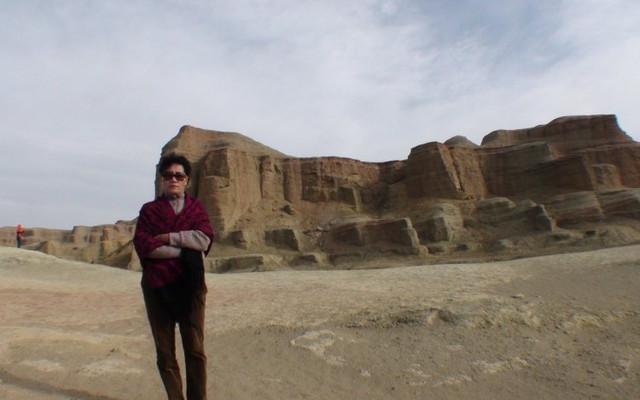[原创]穿过石河子城参观新疆雅丹地貌。新疆8.
