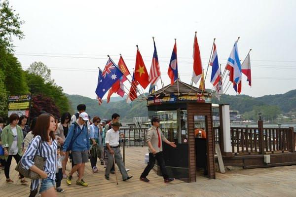 游走韩剧圣地——浪漫南怡岛
