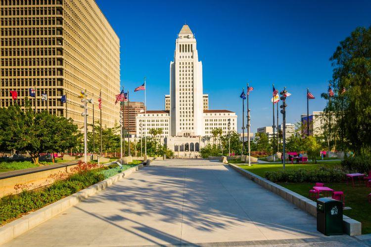 洛杉磯市政廳1