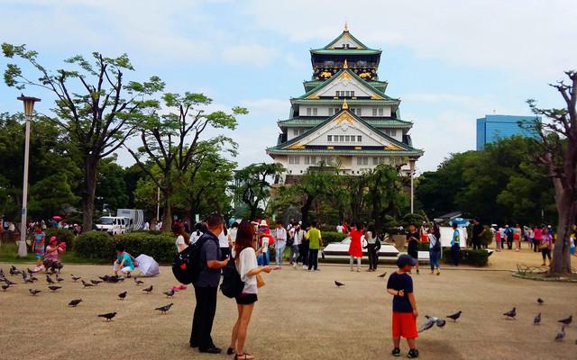 大阪游记攻略----穿行沉迷在熙熙攘攘、灯红酒绿的世界
