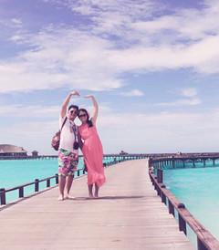 [伊露岛游记图片] 蓝天,白云,我的他。——马代伊露岛蜜月之旅