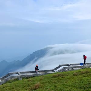 武功山游记图文-登武功山,感受云间草原的美妙
