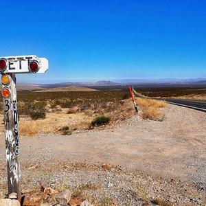 死亡谷国家公园游记图文-死亡谷 孤松镇