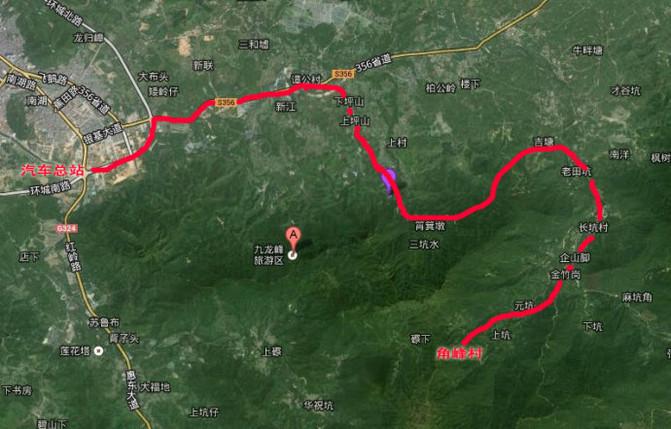 惠东:醉美田园风光——田坑村、角峰村游记