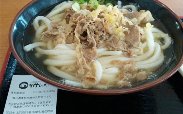 香川县地元美食: 赞岐乌冬面