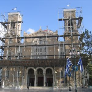 雅典大都市教堂旅游景点攻略图