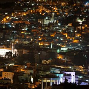 拿撒勒游记图文-【 以色列拿撒勒 · 城市夜色 】——约旦以色列之旅(5)