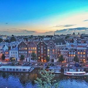阿姆斯特丹游记图文-海平线以下的伊甸园——【荷兰】