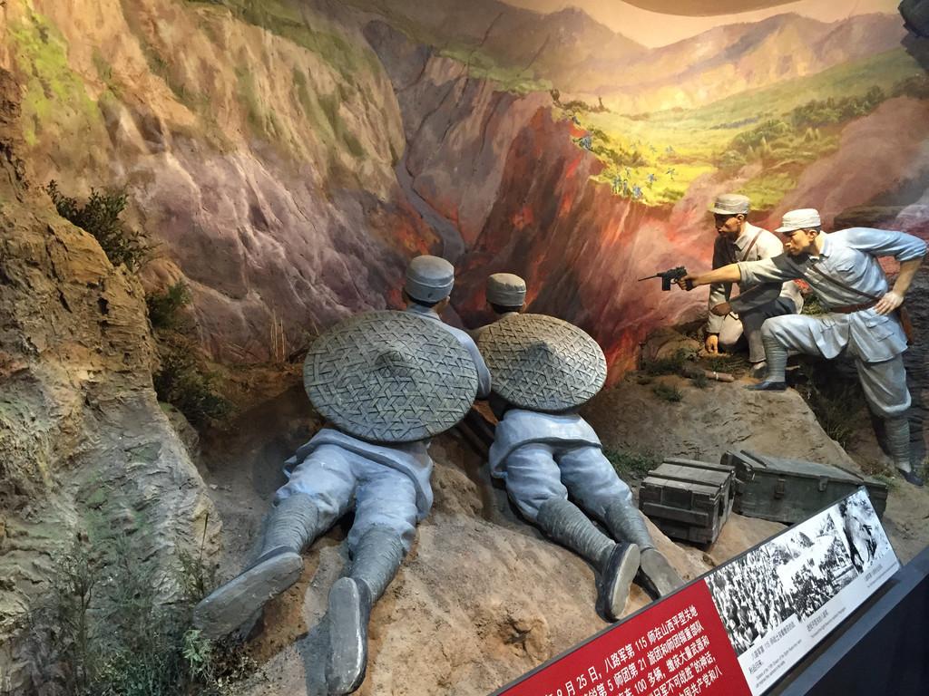 园抗日胜利绘画_中国人民抗日战争纪念馆免门票,交通方便-北京游记攻略