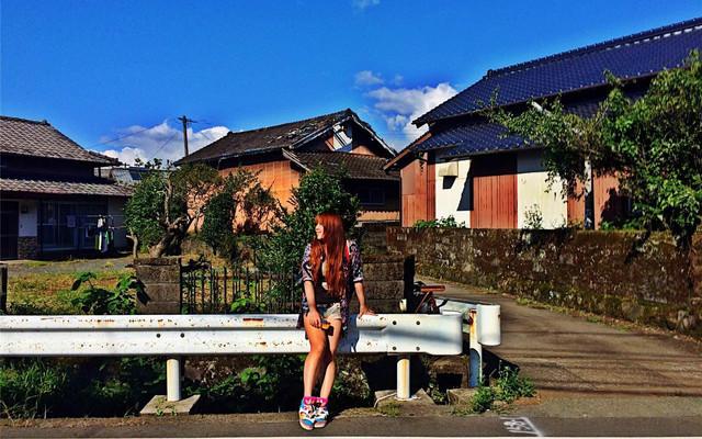 烈日下的Kumamoto-夏日北九州