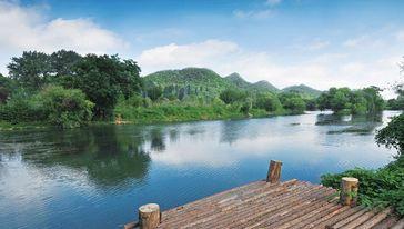 花溪国家城市湿地公园十里河滩景区