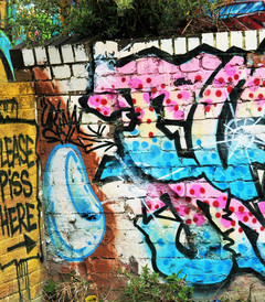 [利物浦游记图片] 从街头涂鸦看利物浦的个性