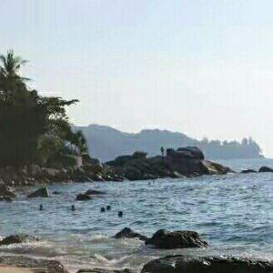 新呷海滩旅游景点攻略图