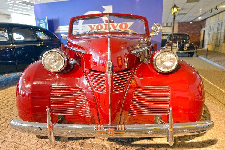 沃爾沃汽車博物館1