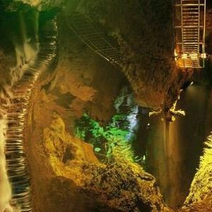 张关水溶洞旅游风景区旅游景点攻略图