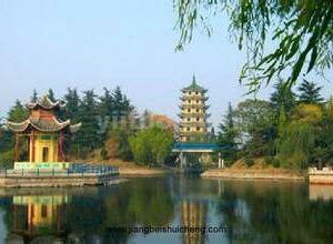 虞姬公园旅游景点攻略图