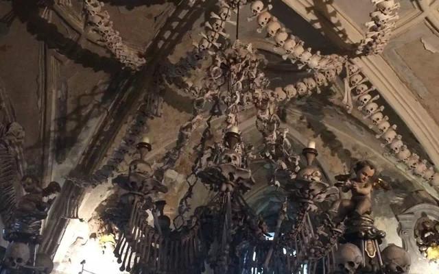 布拉格——人骨大教堂
