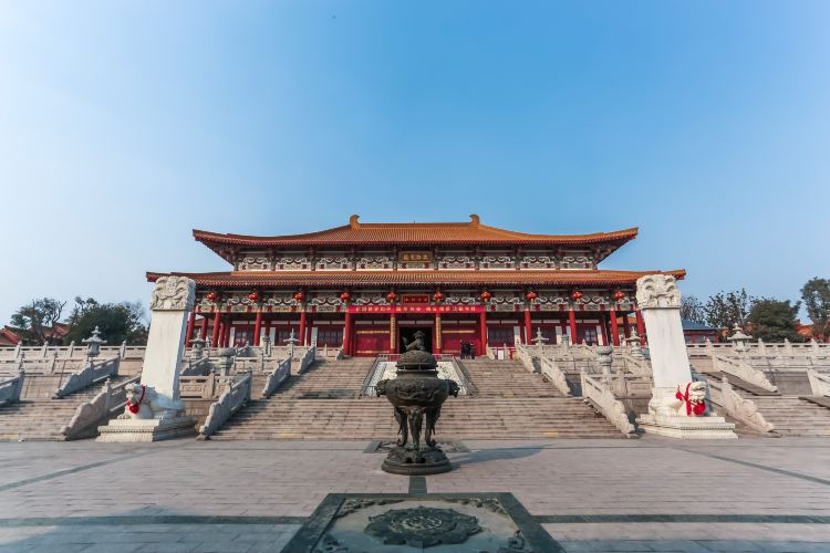 蟠桃山佛教文化景區1