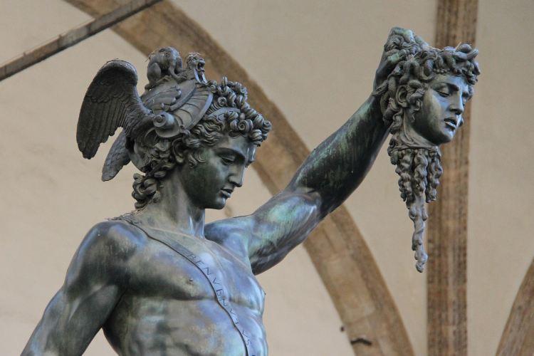 Perseus Statue2