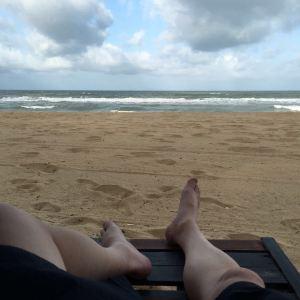 直落尖不辣海滩旅游景点攻略图