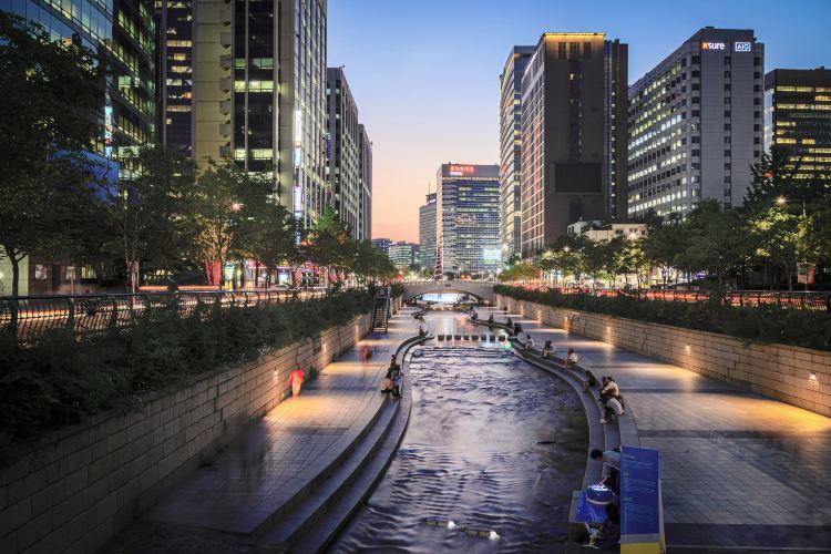 Cheonggyecheon1