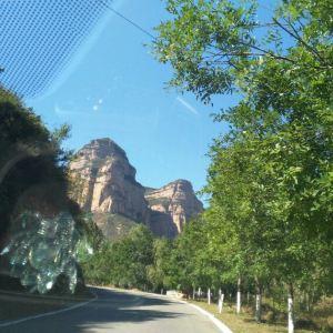 黄崖洞旅游景点攻略图